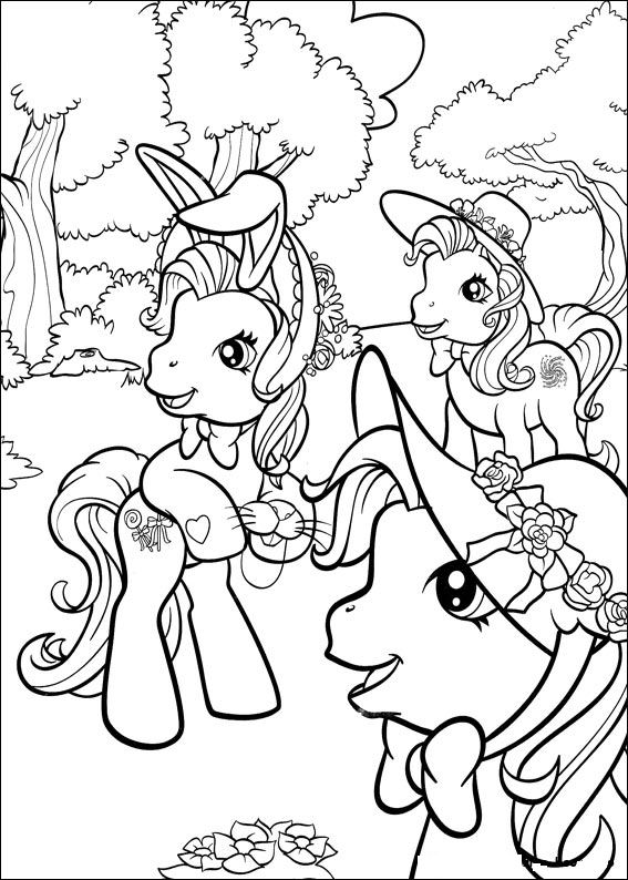 Colouring Pages For My Little Pony : Kids n fun.com 70 coloring pages of my little pony