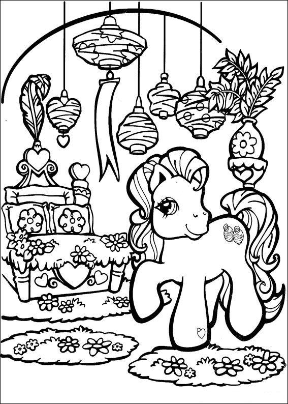 Kleurplaten Printen My Little Pony.Gratis Kleurplaat My Little Pony