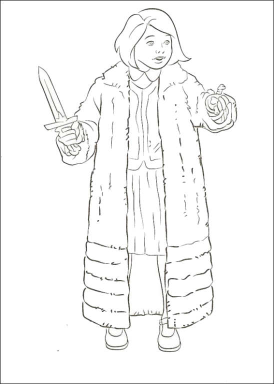Narnia The Lion Witch And Wardrobe Coloring Pages - Diannedonnelly.com