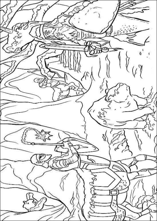 Kidsnfuncom  14 coloring pages of Narnia The Chronicles of