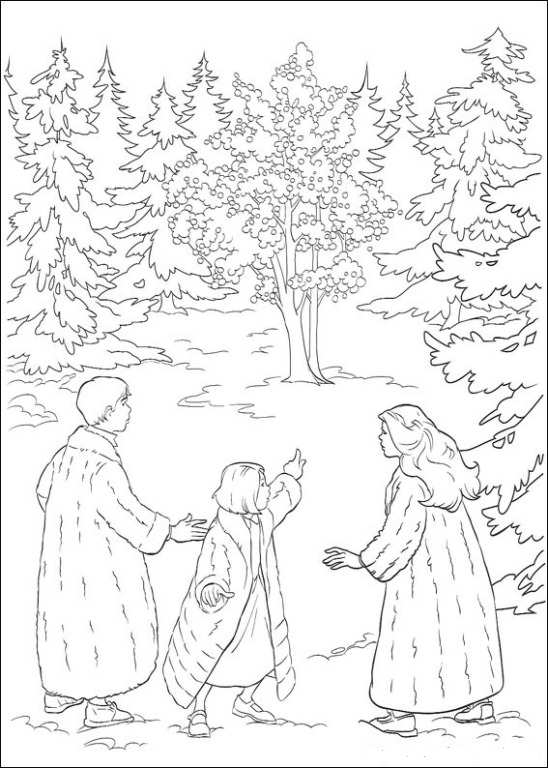 Kids N Fun Com Coloring Page Narnia The Chronicles Of