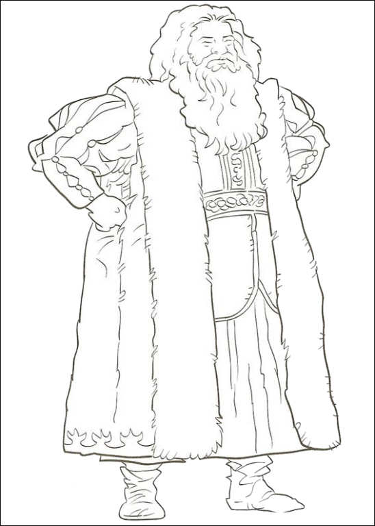 Kidsnfun 14 coloring pages of Narnia The
