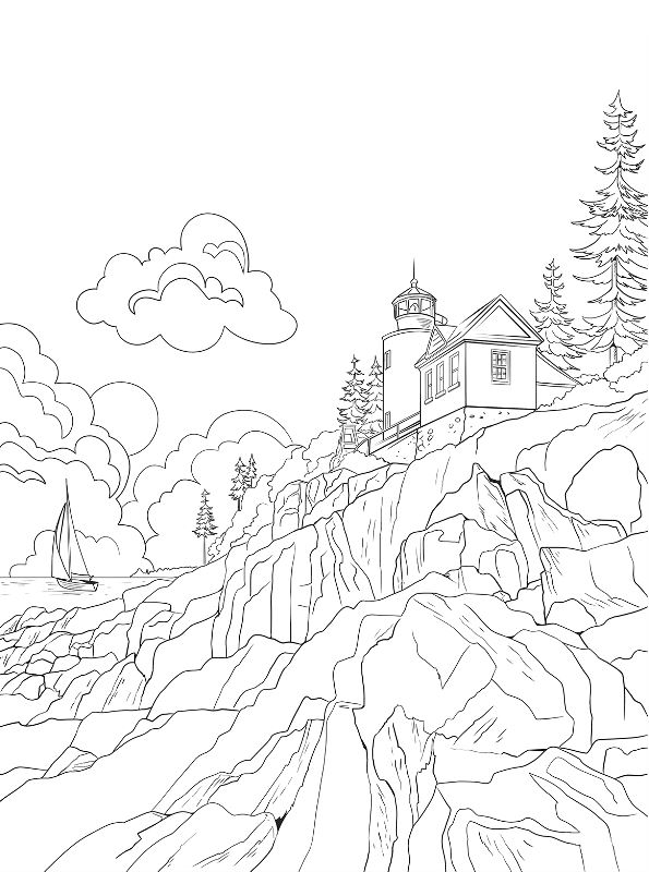 Kids N Fun Com 16 Coloring Pages Of National Parks