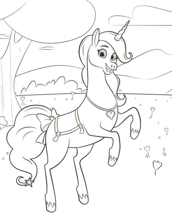 Kids N Fun Com Coloring Page Nella The Princess Knight Trinket