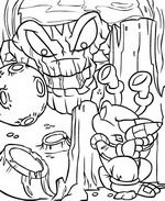 Kids n fun 21 coloring pages of neopets kreludor for Guess how much i love you coloring pages