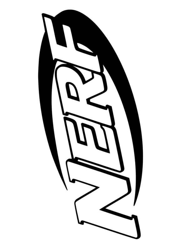 Kids-n-fun.com NERF Logo