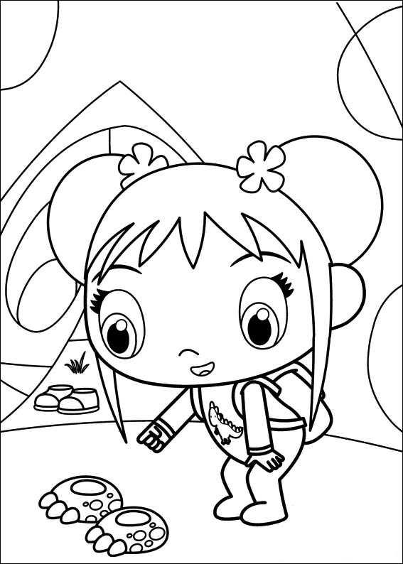Kids n ni hao kai lan for Kai lan coloring pages