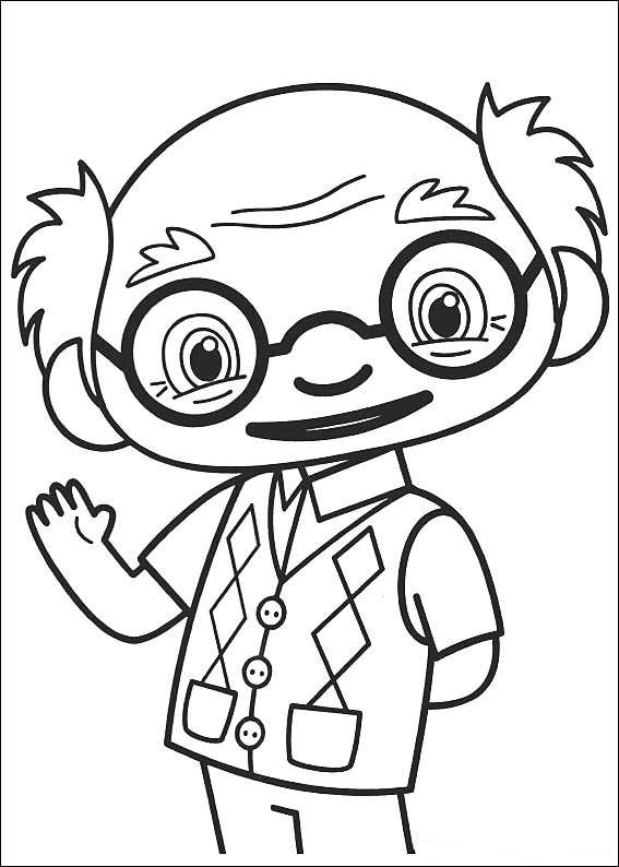 Kids-n-fun.com | 49 coloring pages of Ni hao Kai Lan