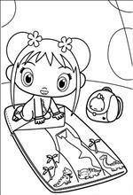 Kids n fun 49 coloring pages of ni hao kai lan for Kai lan coloring pages