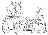 coloring page Noddy