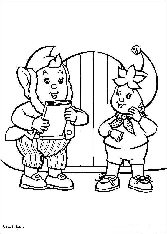 Coloring Pages Kids N Fun : Kids n fun coloring page noddy