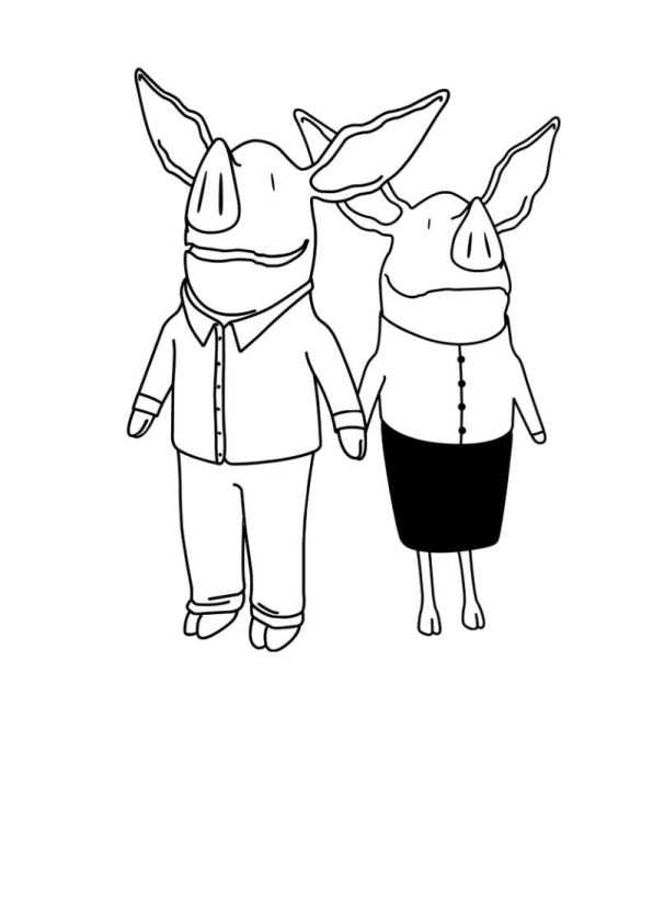 Kids-n-fun.com | 17 coloring pages of Olivia