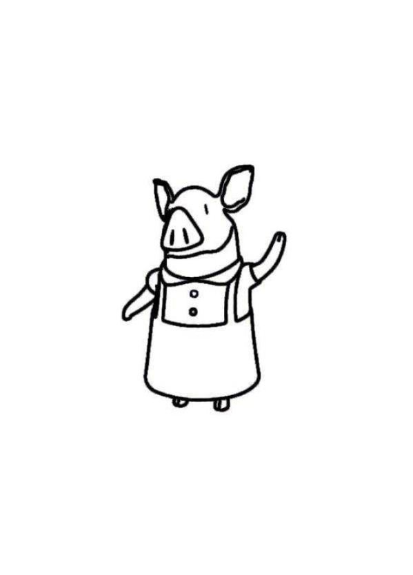 olivia coloring pages for kids - photo#14