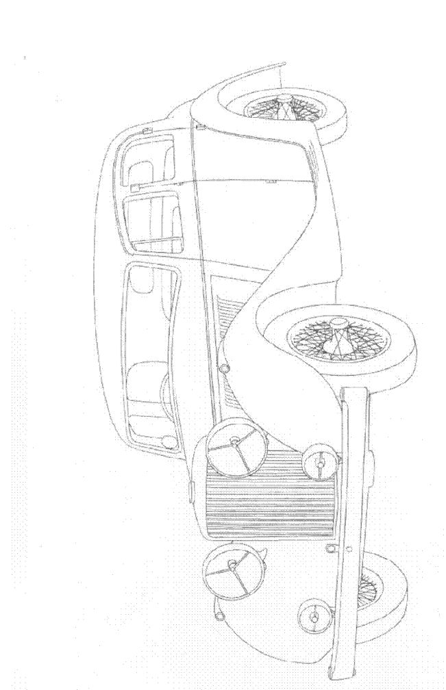 Kids n funcom 33 coloring pages of Classic cars