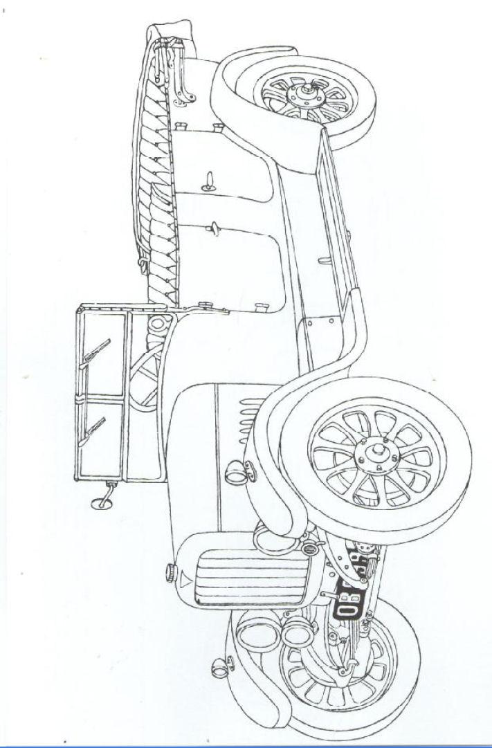 vintage car coloring pages - photo#45