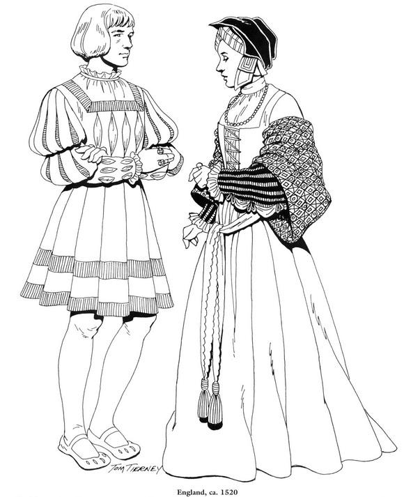 Kids N Fun Kleurplaten Paarden Kids N Fun Com Coloring Page Clothing Of The Renaissance