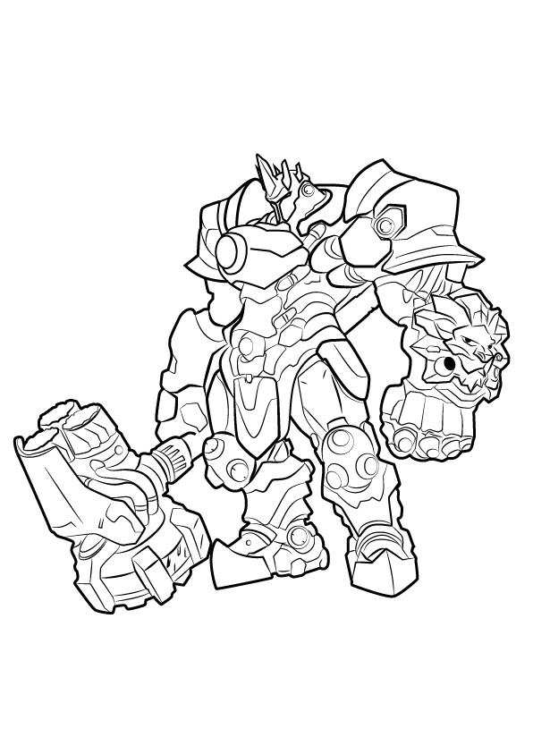 Drawing Lines Game : Kids n fun coloring pages of overwatch