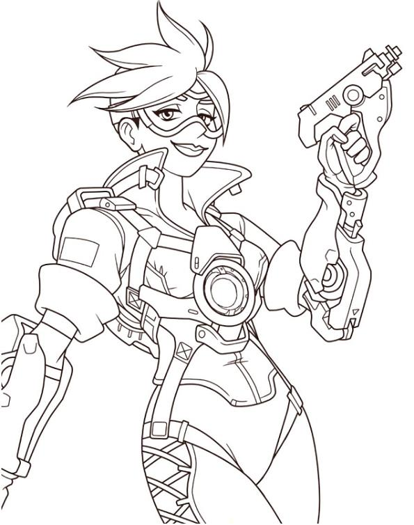 overwatch coloring pages kids n 30 coloring pages of overwatch