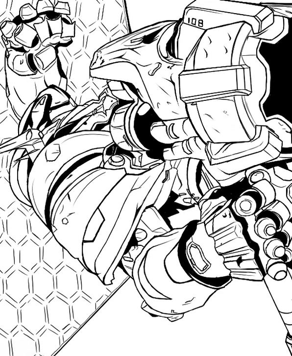 Kids n overwatch 10 for Overwatch coloring pages