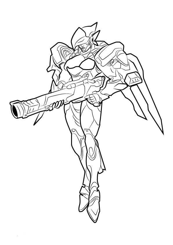 It's just a photo of Légend Overwatch Coloring Sheets