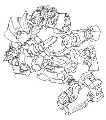 Kleurplaat Overwatch Trazer Kids N Fun Com 30 Coloring Pages Of Overwatch