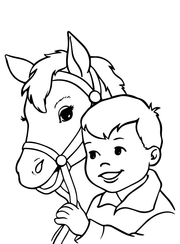 Kids N Fun Co Uk 63 Coloring Pages Of Horses