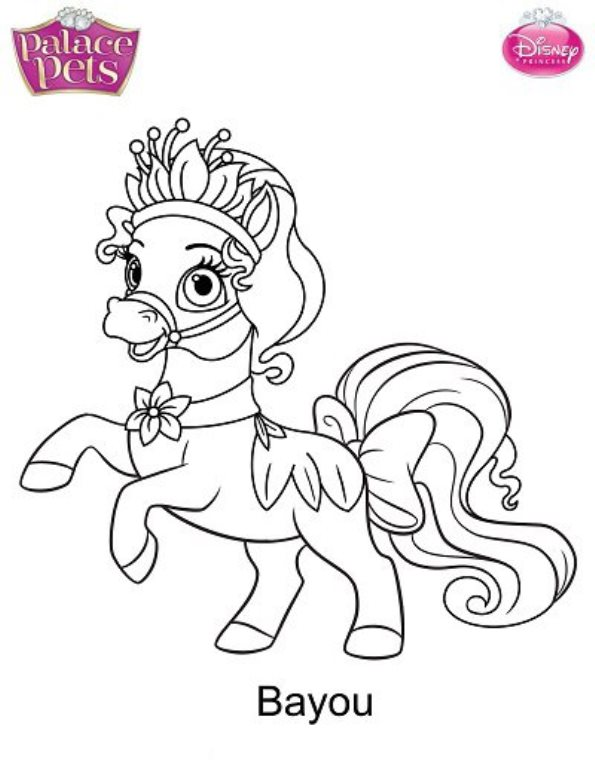 And More Of These Coloring Pages Disney Princesses Pet Parade