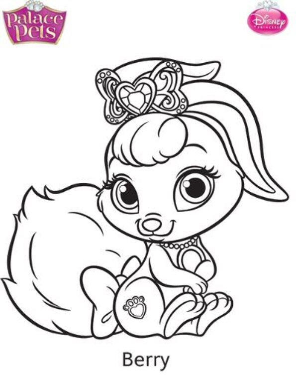 kids-n-fun.co.uk | 36 coloring pages of princess palace pets - Disney Palace Pets Coloring Pages
