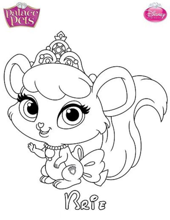 brie - Disney Palace Pets Coloring Pages