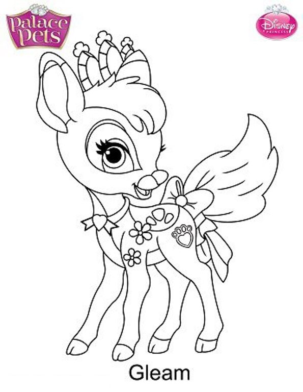 kids n funcom 36 coloring pages of princess palace pets