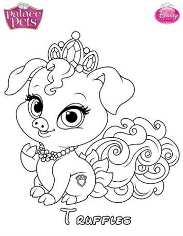 Pets Coloring Pages for Kids - Itsy Bitsy Fun | 461x357
