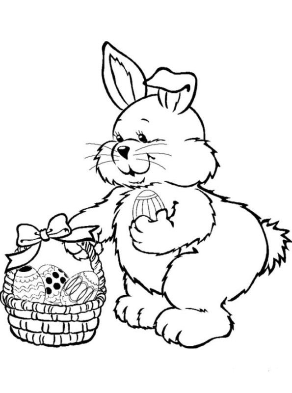 Kids n coloring page easter easter for Kids n fun coloring pages