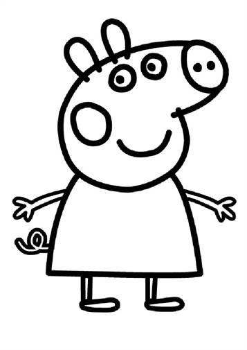 Kids N Fun Com 20 Coloring Pages Of Peppa Pig