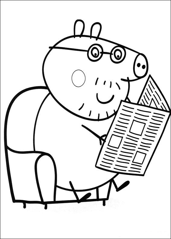 20 peppa pig coloring pages