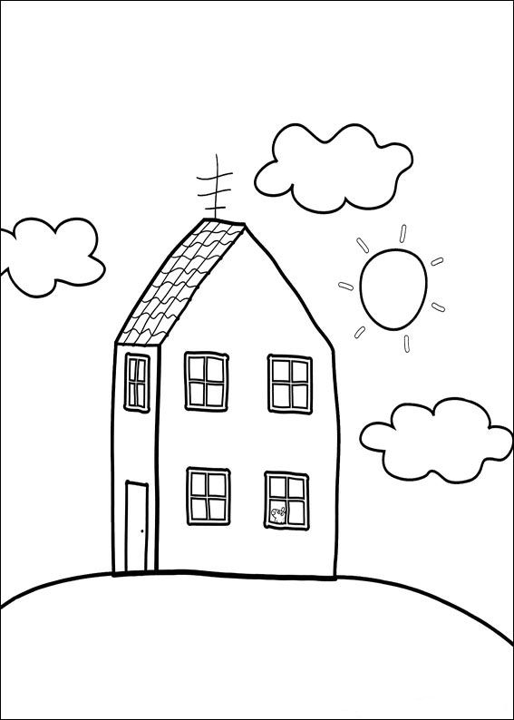 kids n funcom 20 coloring pages of peppa pig