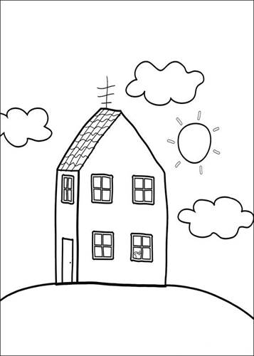 Kids-n-fun.com | 20 coloring pages of Peppa Pig
