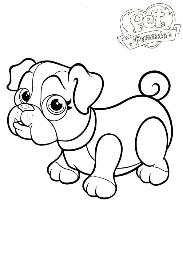 Kids N Fun Co Uk Coloring Page Pet Parade Pet Parade