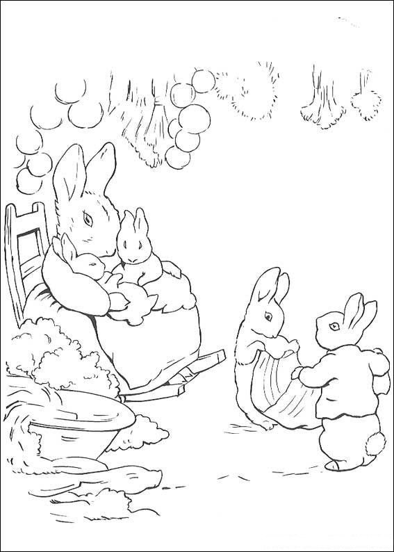 - Kids-n-fun.com Coloring Page Peter Rabbit Peter Rabbit