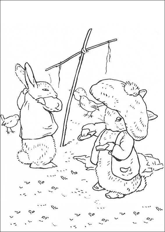 Kids-n-fun.com | 29 coloring pages of Peter Rabbit