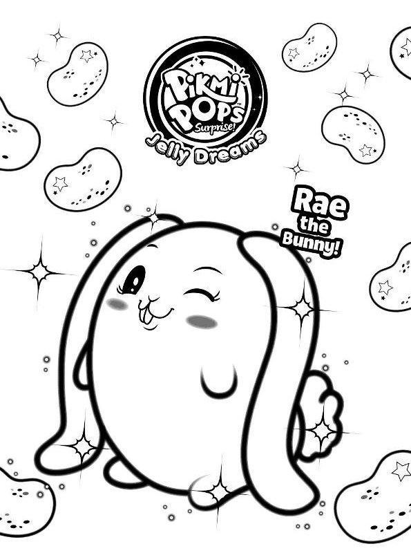 Kids-n-fun.com | Coloring page Pikmi Pops Cute Bunny Pikmi ...