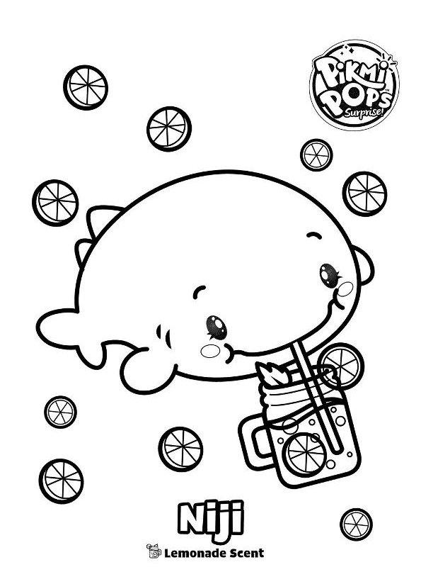 Kids-n-fun.com   Coloring page Pikmi Pops Niji