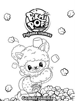 Kids N Fun Com 46 Coloring Pages Of Pikmi Pops