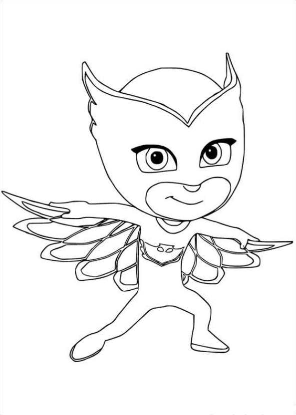 bibou - Pj Masks Coloring Pages