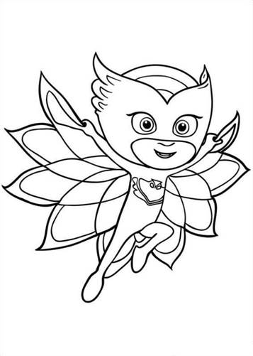 picture relating to Printable Pj Masks Coloring Pages identify  20 coloring webpages of PJ Masks