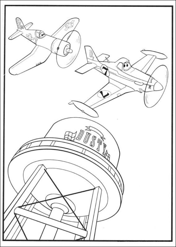 kidsnfuncom 69 coloring pages of planes 2