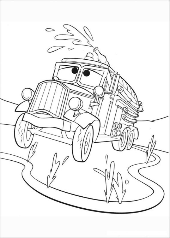 Kids-n-fun.com | 69 coloring pages of Planes 2