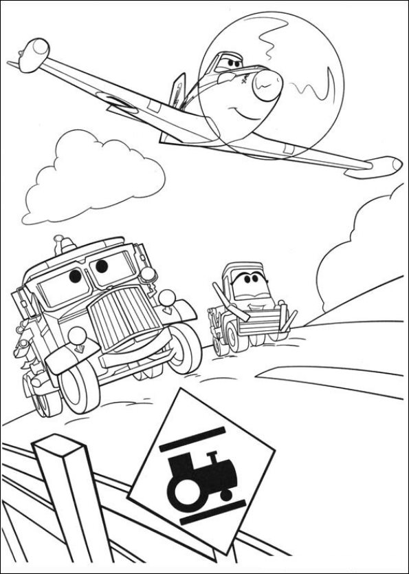 disney cars and planes coloring pages | Kids-n-fun.com | 69 coloring pages of Planes 2