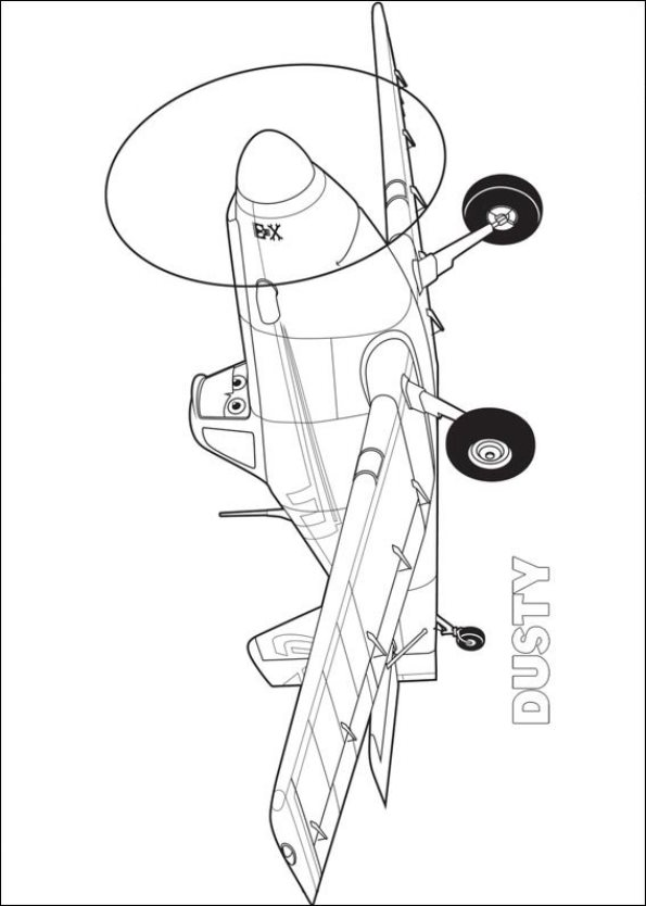 Kidsnfuncom 33 coloring pages of Planes