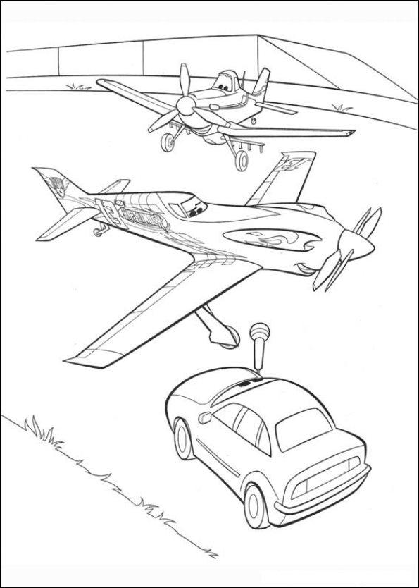 Kleurplaten Disney Planes.Kids N Fun Com Coloring Page Planes Planes