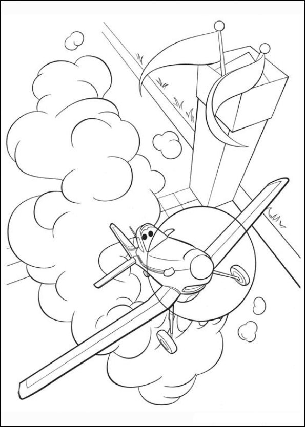 coloring pages of planes - photo#28